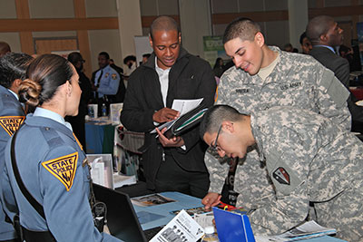 At the GI Go Fund 6th Annual Newark Veterans Job Fair, over 500 military veterans came to the Rutgers-Newark Paul Robeson Campus Center  to meet with 72 companies and organizations in hopes of finding.