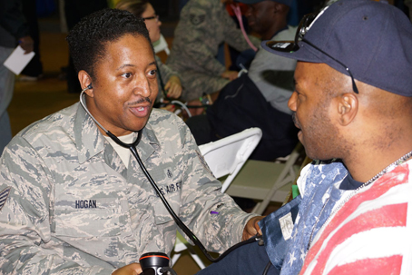 Roughly 200 Veterans received medical assistance and emergency care at annual Stand Down